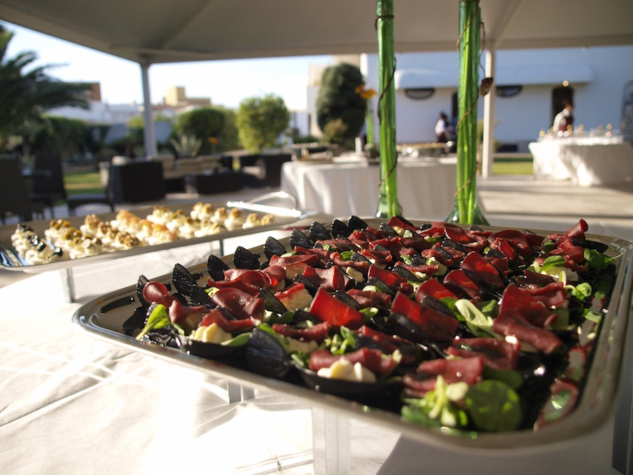 Finger Food Buffet Ristorante Leone De Castris Wine Hotel